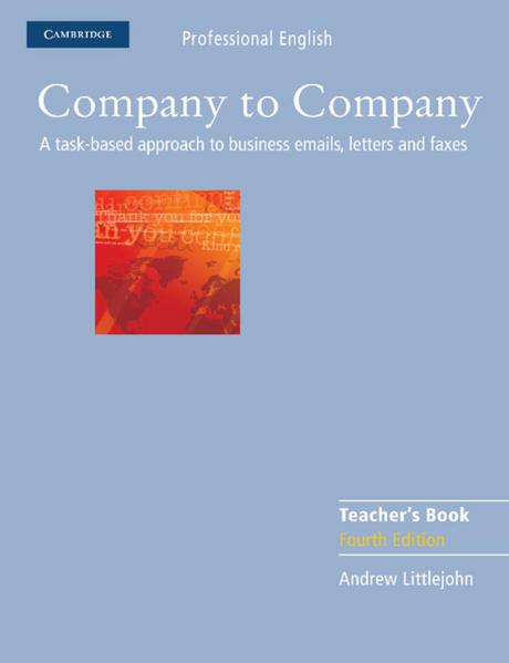 Company to Company Fourth Edition - Coverbild