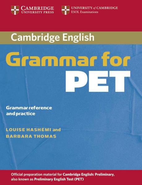 Cambridge Grammar for PET - Coverbild