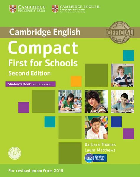 Compact First for Schools - Second edition / Compact First for Schools - Coverbild