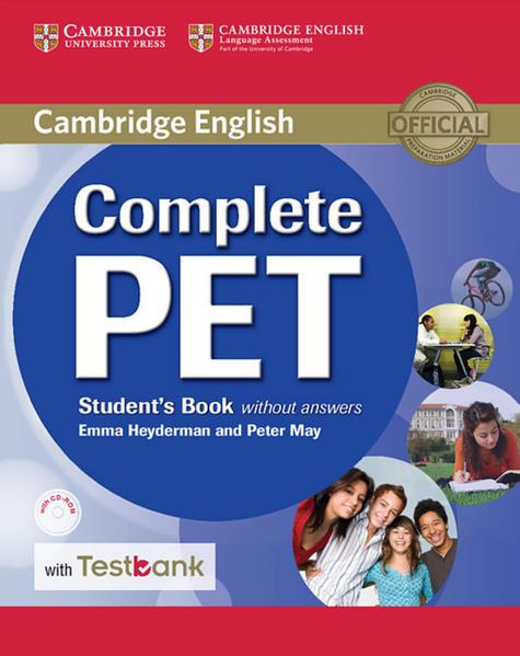 Testbank Complete PET - Coverbild