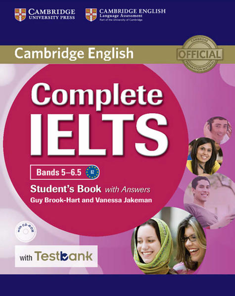 Testbank Complete IELTS - Coverbild