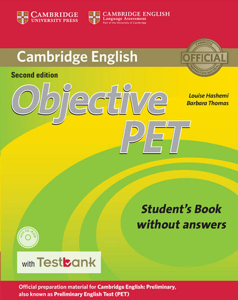 Testbank Objective PET Second Edition - Coverbild