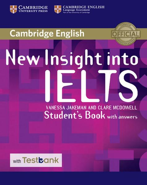 Testbank New Insight into IELTS - Coverbild