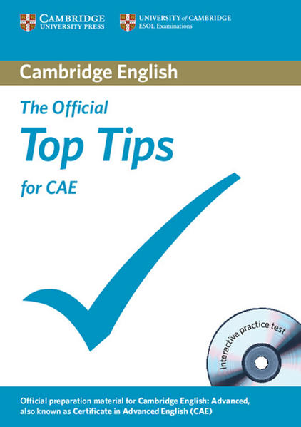 The Official Top Tips for CAE - Coverbild