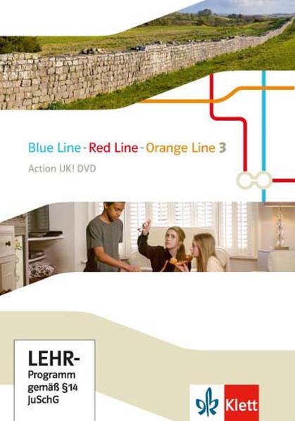 Blue Line - Red Line - Orange Line / Action UK! DVD - Coverbild
