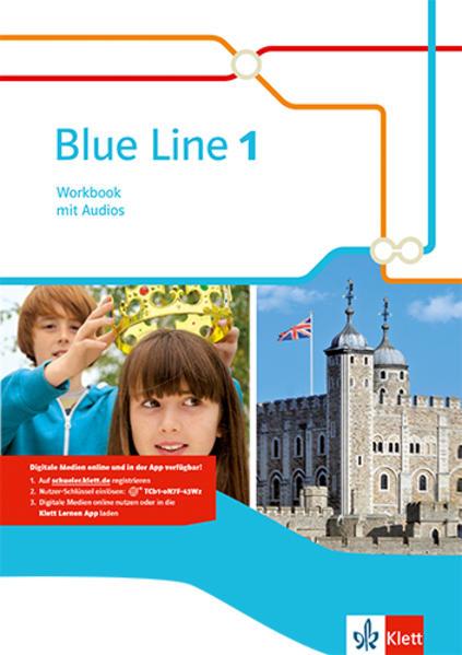 Blue Line / Workbook mit Audio-CD - Coverbild