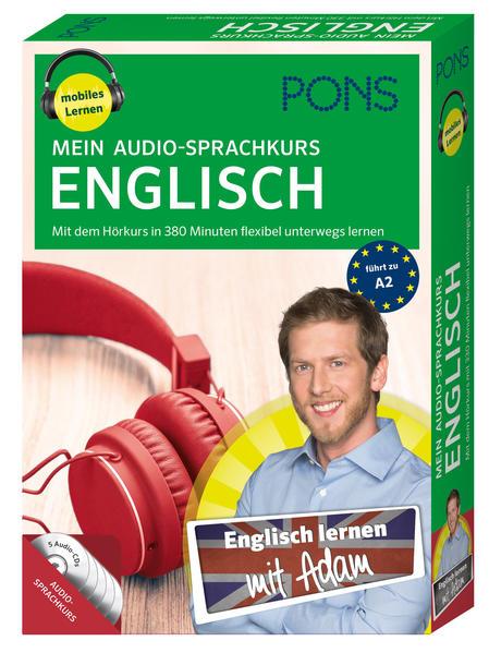 PONS Mein Audio-Sprachkurs Englisch - Coverbild