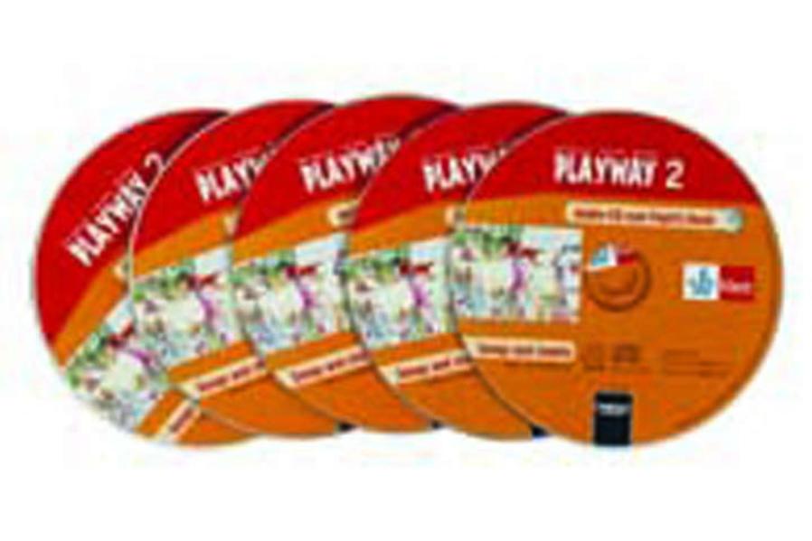 Playway. Für den Beginn ab Klasse 1 / Schüler-Audio-CD 5er-Pack 2. Schuljahr - Coverbild