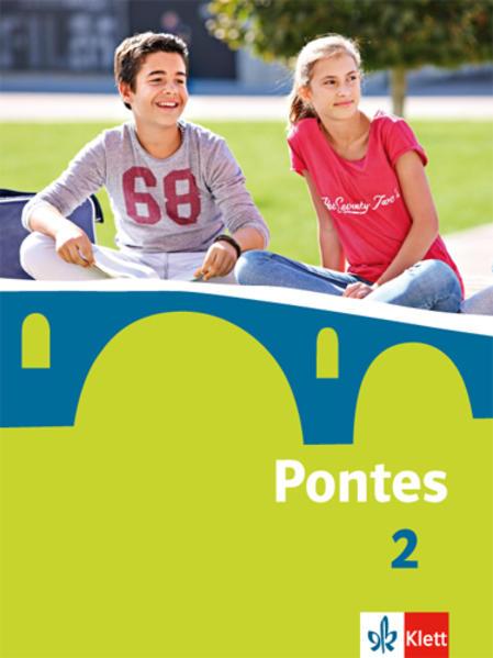 Pontes / Schülerbuch - Coverbild