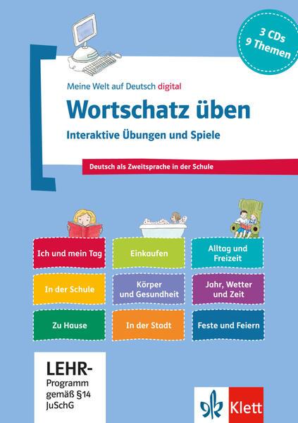 Wortschatz üben: Interaktive Übungen und Spiele - Coverbild