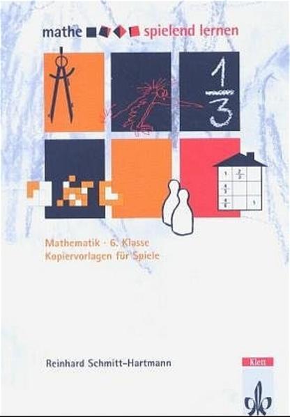Mathe spielend lernen. Kopiervorlagen für Spiele - Coverbild