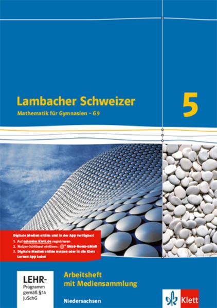 Lambacher Schweizer - Ausgabe für Niedersachsen G9 / Arbeitsheft plus Lösungsheft und Lernsoftware 5. Schuljahr - Coverbild