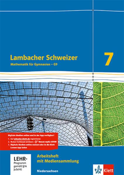 Lambacher Schweizer - Ausgabe für Niedersachsen G9 / Arbeitsheft plus Lösungsheft und Lernsoftware 7. Schuljahr - Coverbild