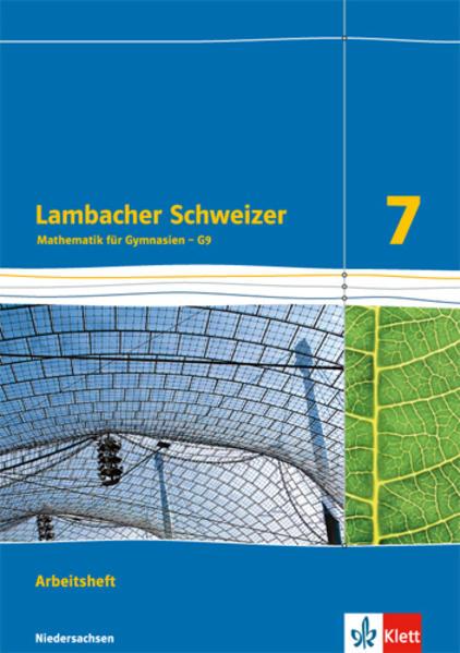 Lambacher Schweizer - Ausgabe für Niedersachsen G9 / Arbeitsheft plus Lösungsheft 7. Schuljahr - Coverbild