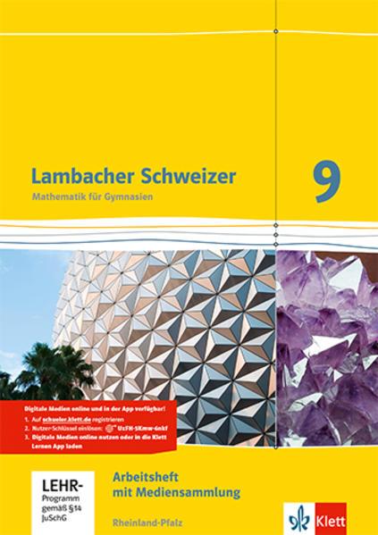 Lambacher Schweizer - Ausgabe für Rheinland-Pfalz 2012 / 9. Schuljahr - Coverbild