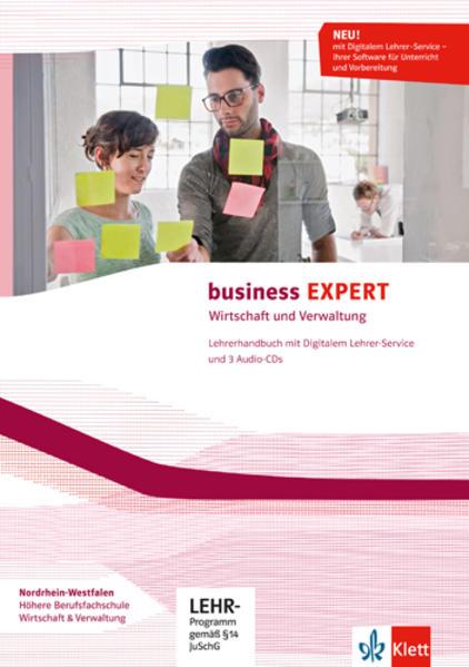 Business EXPERT Nordrhein-Westfalen / Lehrerhandbuch mit Digitalem Lehrer-Service und 3 Audio-CDs - Coverbild