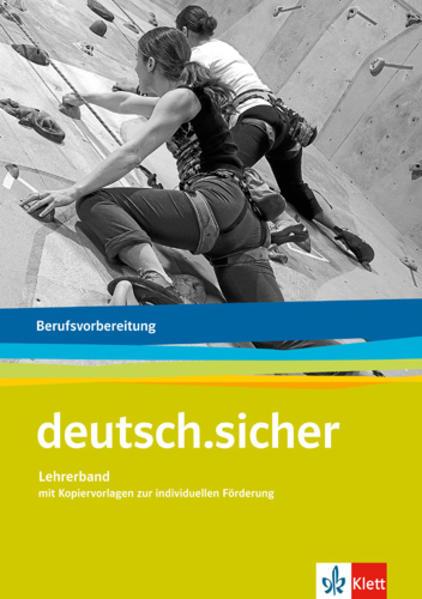 deutsch.sicher / Berufsvorbereitung - Coverbild