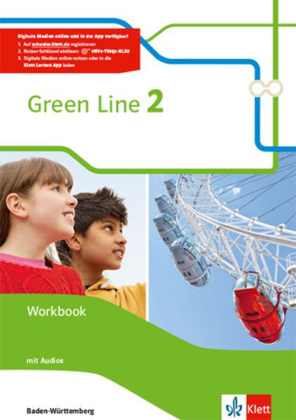 Green Line / Workbook mit Audio-CDs 6. Klasse - Coverbild
