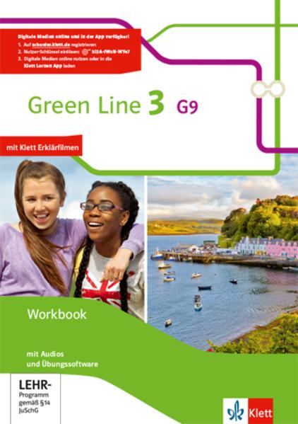 Green Line / Workbook mit Audio-CD´s und Übungssoftware 7. Klasse G9 - Coverbild