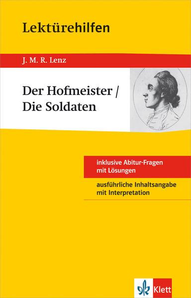 Lektürehilfen J.M.R. Lenz