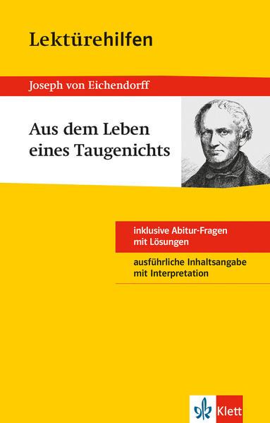 Lektürehilfen Joseph von Eichendorff