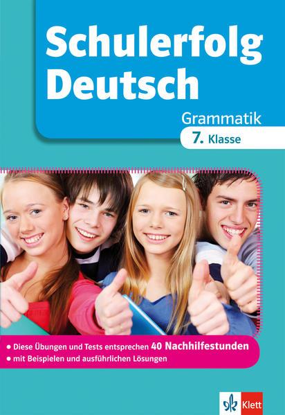 Schulerfolg Deutsch Grammatik 7. Klasse - Coverbild