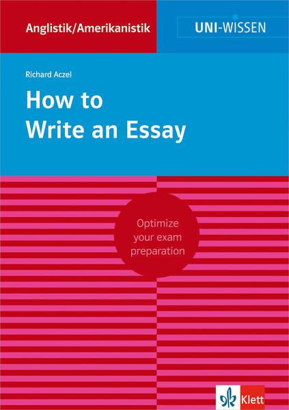 How to Write an Essay - Coverbild