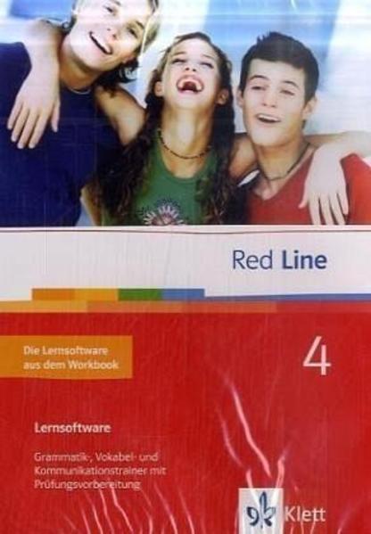Red Line. Unterrichtswerk für Realschulen / Schülerlernsoftware (entspricht der Workbook-Software) 8. Schuljahr - Coverbild