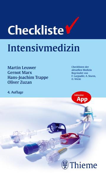 Checkliste Intensivmedizin - Coverbild