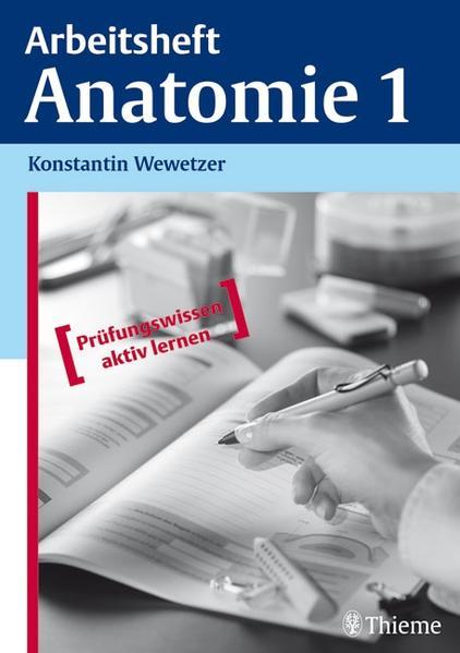Arbeitsheft Anatomie 1 - Coverbild
