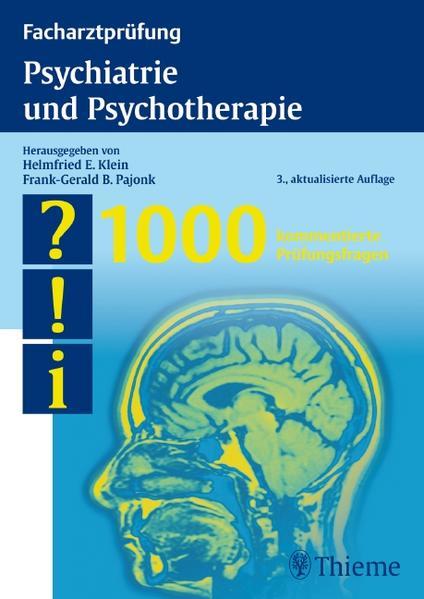 Facharztprüfung Psychiatrie und Psychotherapie - Coverbild