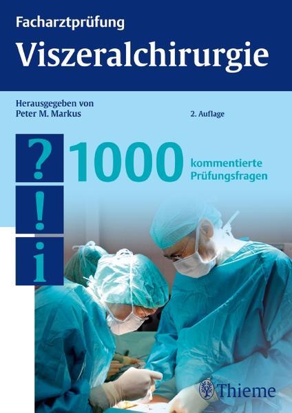 Facharztprüfung Viszeralchirurgie, 1000 Fragen - Coverbild