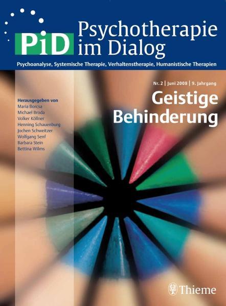 Psychotherapie im Dialog - Geistige Behinderung - Coverbild