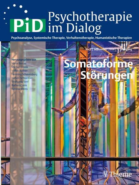 Psychotherapie im Dialog - Somatoforme Störungen - Coverbild