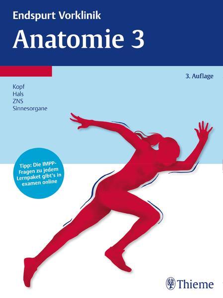 Endspurt Vorklinik: Anatomie 3 - Coverbild