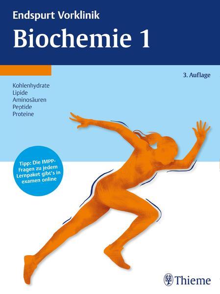 Endspurt Vorklinik: Biochemie 1 - Coverbild