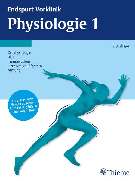 Endspurt Vorklinik: Physiologie 1 - Coverbild