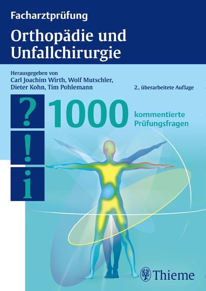 Facharztprüfung Orthopädie und Unfallchirurgie - Coverbild