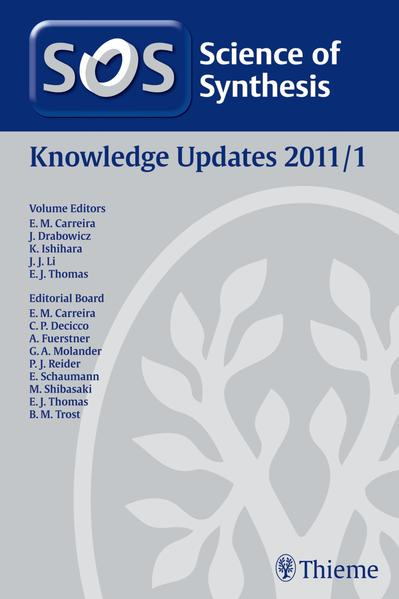 Science of Synthesis Knowledge Updates 2011 Vol. 1 - Coverbild