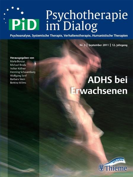 Psychotherapie im Dialog - ADHS bei Erwachsenen - Coverbild