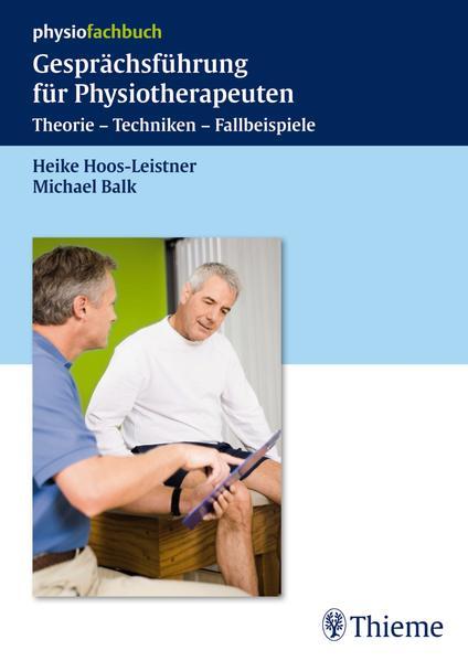 Gesprächsführung für Physiotherapeuten - Coverbild