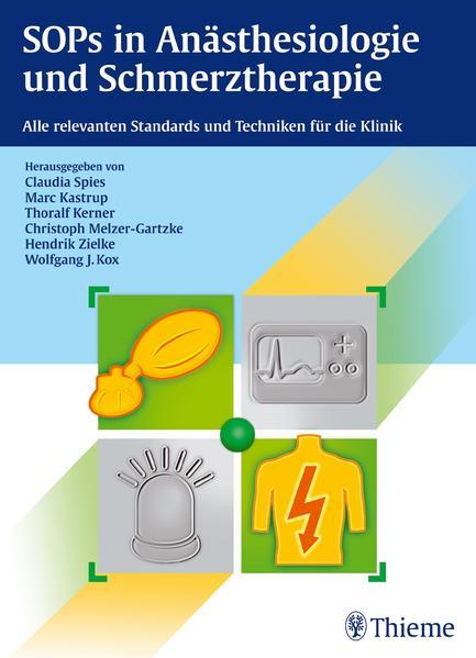 SOPs in Anästhesiologie und Schmerztherapie - Coverbild