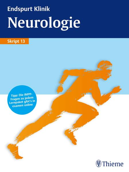 Endspurt Klinik Skript 13: Neurologie - Coverbild