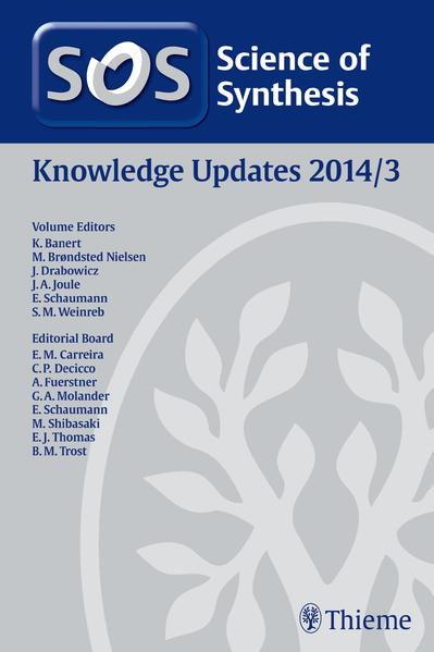 Science of Synthesis Knowledge Updates 2014 Vol. 3 - Coverbild