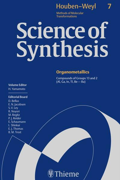 Science of Synthesis: Houben-Weyl Methods of Molecular Transformations  Vol. 7 - Coverbild