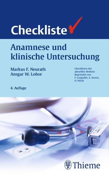 Checkliste Anamnese und klinische Untersuchung - Coverbild