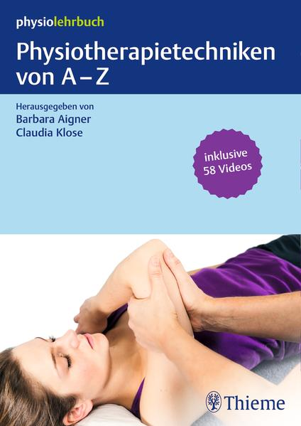 Physiotherapietechniken von A-Z - Coverbild