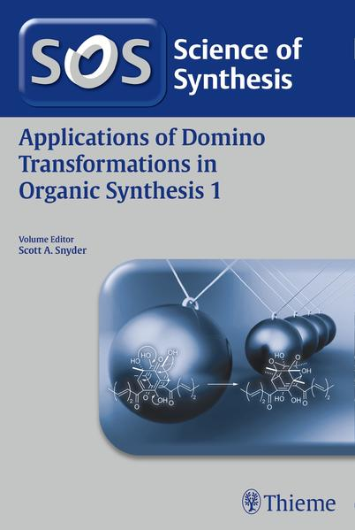 Applications of Domino Transformations in Organic Synthesis, Volume 1 - Coverbild