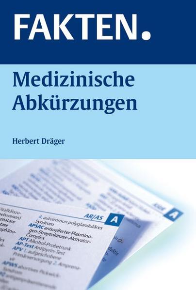 FAKTEN. Medizinische Abkürzungen - Coverbild