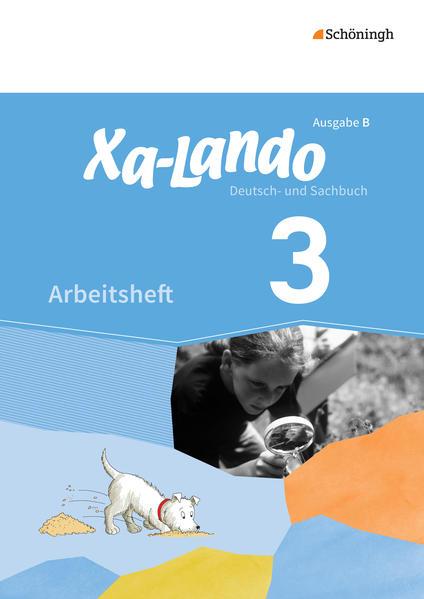 Xa-Lando / Xa-Lando - Deutsch- und Sachbuch - Ausgabe B für Baden-Württemberg - Coverbild